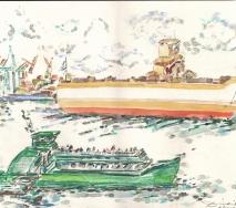 containerschiff-und-barkasse-auf-der-elbe-a1006-56x41cm