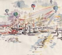 segelschiffe-und-ballons-im-hamburger-hafen-a8907hh-60x46cm