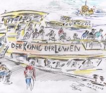 barkasse-koenig-der-loewen-b0909hh-40x30cm