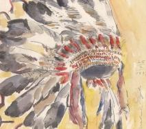 indianer-federhaube-dakota-a9702me-34x43cm