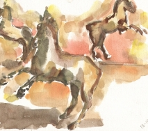 terracotta-pferde-apulien-18-10-1995-a9519me194-kunst-und-gewerbe