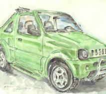 suzuki-jimney-a0101ps-40x30cm