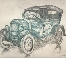opel-schwarz-gruen-r8403ps-50x40cm