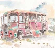 formentera-bus-a8310r-49x35cm
