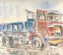 formentera-lastwagen-a8508r-69x50cm