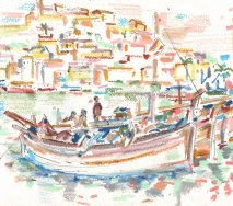 ibiza-fischerboote-b9302r-35x25cm