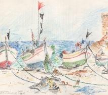 tossa-de-mar-fischerboote-b8110r-48x36cm