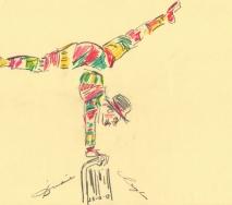 cirque-de-soleil-clown-b1212s-40x30cm