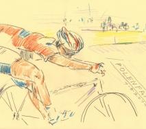 fahrrad-polenfahrt-b1108s-40x30cm