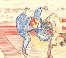 ringer-olympische-spiele-b1208s-40x30cm