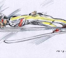 skispringerm1003-b40x30cm